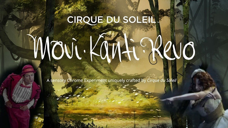 Jeffrey Michael Composes for Cirque Du Soleil and Google