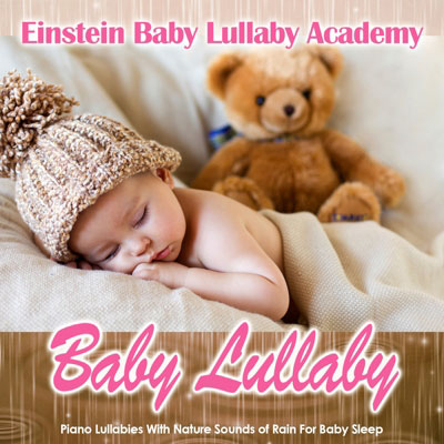 Bably lullaby piano nature rain sleep