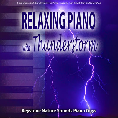 Relaxing Piano with Thunderstorm