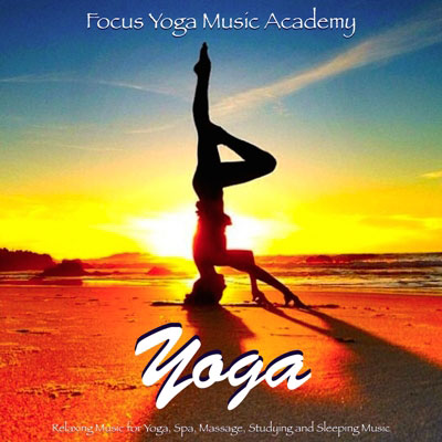 Yoga relaxing spa massage studying music
